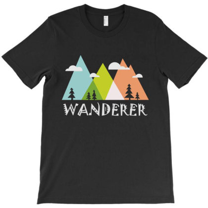 Wanderer T-shirt Designed By Designtees
