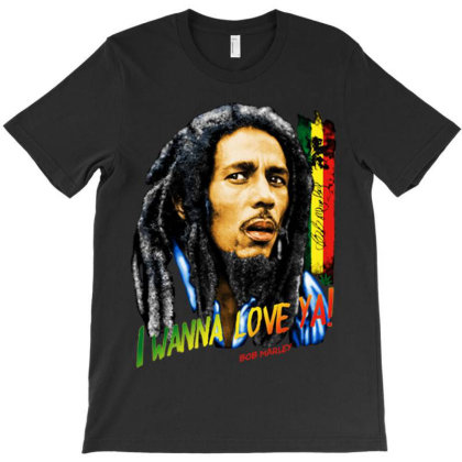 I Wanna Love Ya T-shirt Designed By Marley Tees
