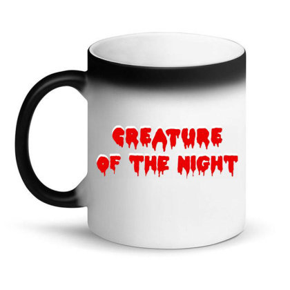 Creature Of The Night Album Magic Mug Designed By Gomarket Tees