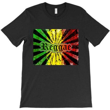 Reggae Rastafari Music T-shirt Designed By Marley Tees