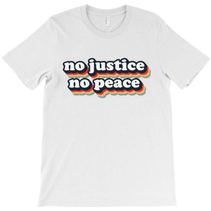 No Justice No Peace Blm 2020 T-shirt Designed By Cooldesignz