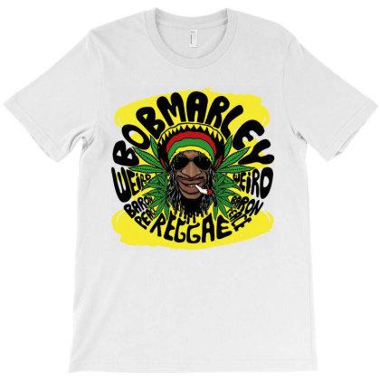Bob Marley Reggae T-shirt Designed By Marley Tees