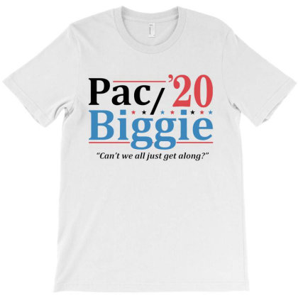 Pac And Biggie 2020 T-shirt Designed By Cooldesignz