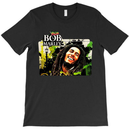 Bob Marley Nine Mile T-shirt Designed By Marley Tees