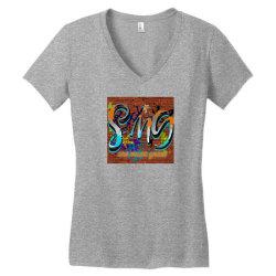 26 07 2020 07 42 24 Women's V-Neck T-Shirt | Artistshot