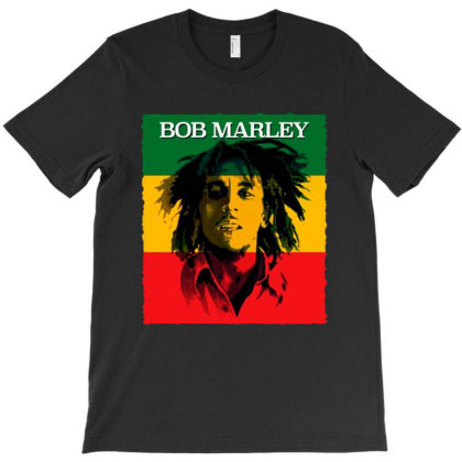 Bob Marley  The Reggae T-shirt Designed By Marley Tees