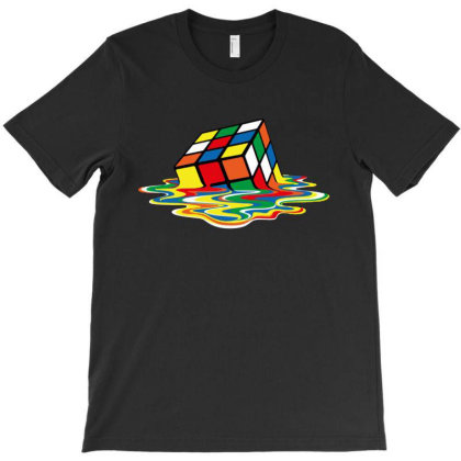 Rubik's Cube T-shirt Designed By Marley Tees
