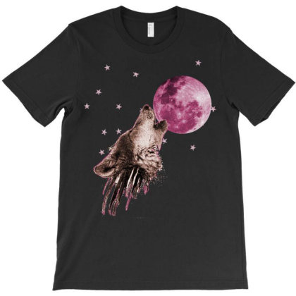 Wolf In The Stars T-shirt Designed By Killakam