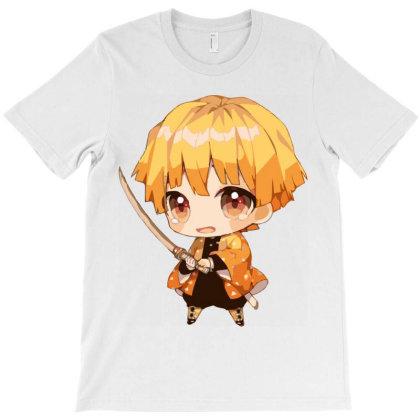 Anime _ Zenitsu Fanart T-shirt Designed By Dc47