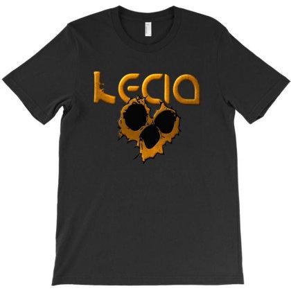 Lecia Gold T-shirt Designed By Dav