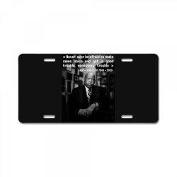 congressman john lewis never ever be afraid 1940-2020 License Plate | Artistshot