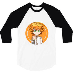 Anime _ Promised Neverland 3/4 Sleeve Shirt | Artistshot