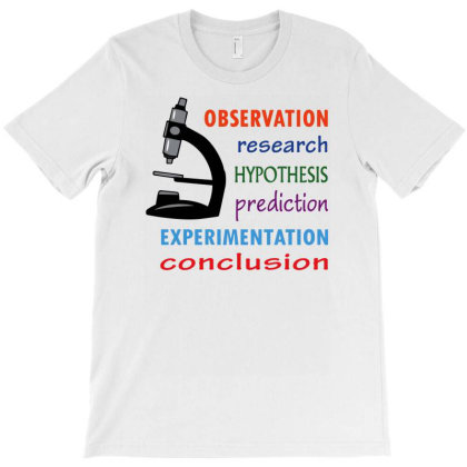 Observation And Research T-shirt Designed By Rusmashirt