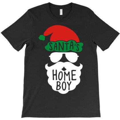 Santa's Homeboy Funny T-shirt Designed By Rusmashirt