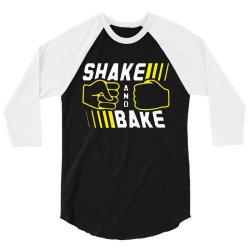 shake and bake 3/4 Sleeve Shirt | Artistshot