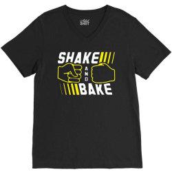 shake and bake V-Neck Tee | Artistshot