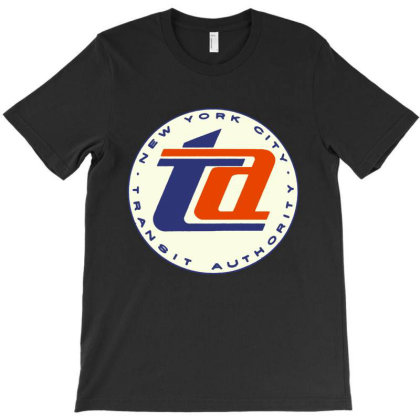 Vintage New York Transit Authority T-shirt Designed By Cooldesignz