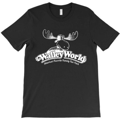 Walley World Funny T-shirt Designed By Cooldesignz