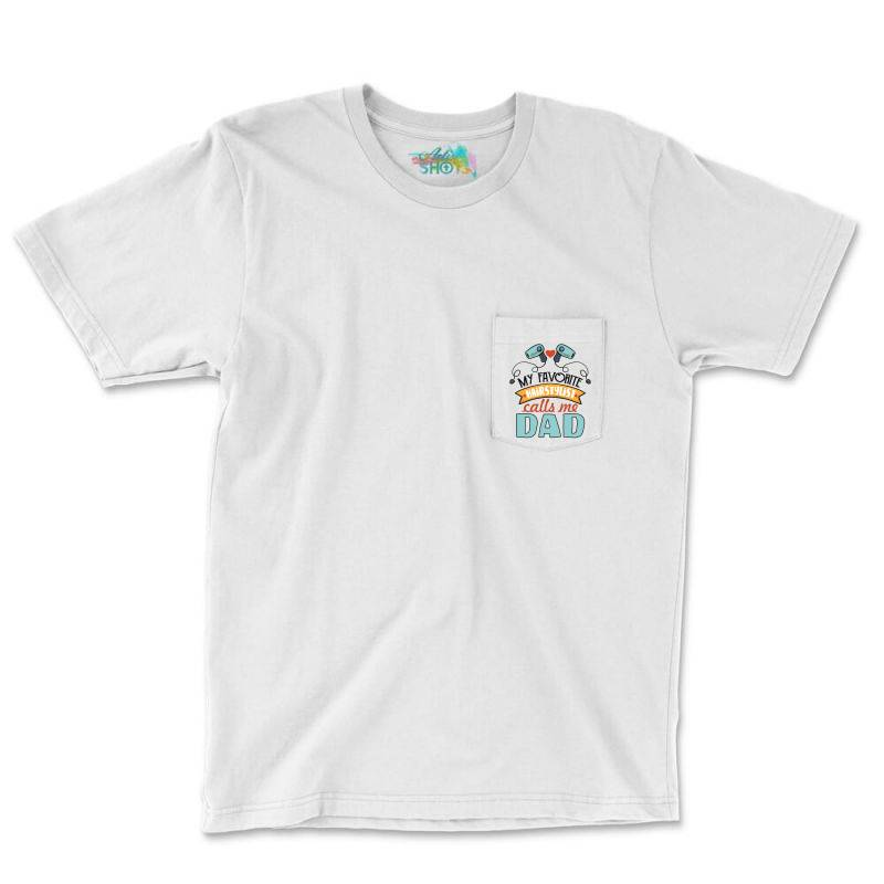 My Favorite Hairdtylist Calls Me Dad Pocket T-shirt | Artistshot