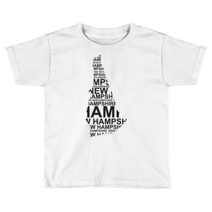 Hampshire, United States Of America, Usa Toddler T-shirt Designed By Estore