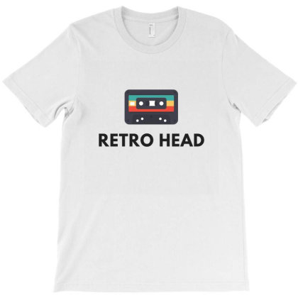 Retro Head T-shirt Designed By Beeyou