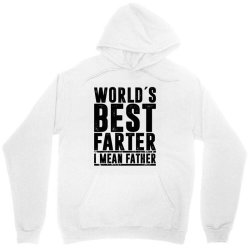 WORLD´S BEST FATER I MEAN FATHER   father's day gift Unisex Hoodie   Artistshot