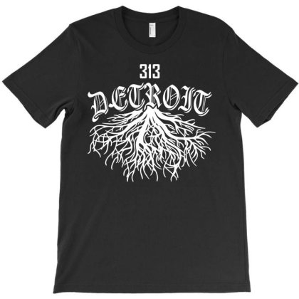 Detroit Roots T-shirt Designed By Shirt1na