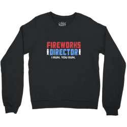 fireworks directo 4th of july gift Crewneck Sweatshirt | Artistshot
