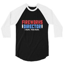 fireworks directo 4th of july gift 3/4 Sleeve Shirt | Artistshot