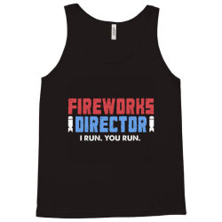 fireworks directo 4th of july gift Tank Top | Artistshot