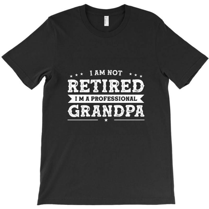 Funny Retiree I'm Not Retired I'm A Professional Grandpa T-shirt | Artistshot