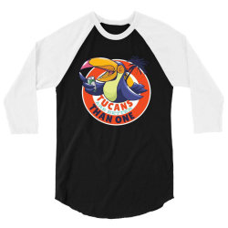 tucans are better than one 3/4 Sleeve Shirt | Artistshot