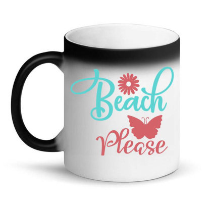 Beach Please Magic Mug Designed By Irenestore