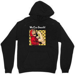 we can steal it! Unisex Hoodie | Artistshot