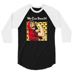 we can steal it! 3/4 Sleeve Shirt | Artistshot