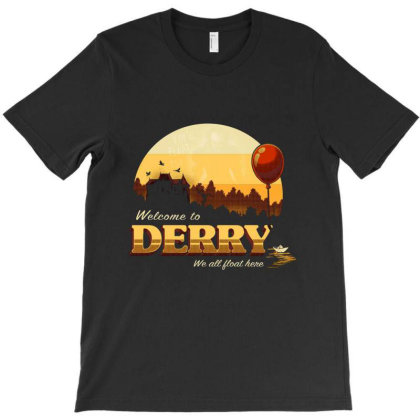Welcome To Derry T-shirt Designed By Cuser4048