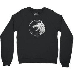 wh1t3 w0lf Crewneck Sweatshirt | Artistshot
