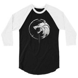 wh1t3 w0lf 3/4 Sleeve Shirt | Artistshot