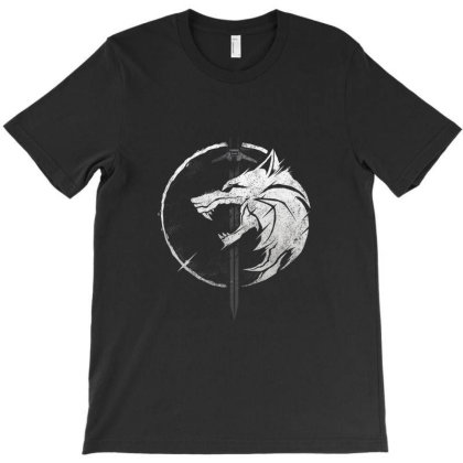 Wh1t3 W0lf T-shirt Designed By Cuser4048