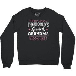 what world's greatest grandma Crewneck Sweatshirt | Artistshot