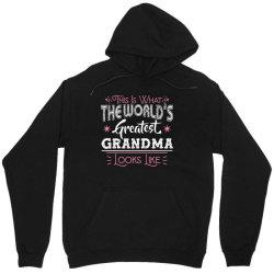 what world's greatest grandma Unisex Hoodie | Artistshot