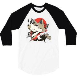 wolf 3/4 Sleeve Shirt | Artistshot