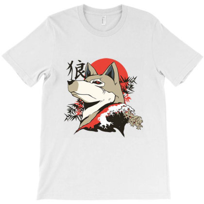 Wolf T-shirt Designed By Cuser4048