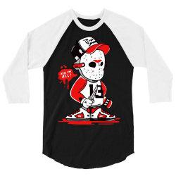 kill i'm all party time halloween 3/4 Sleeve Shirt | Artistshot