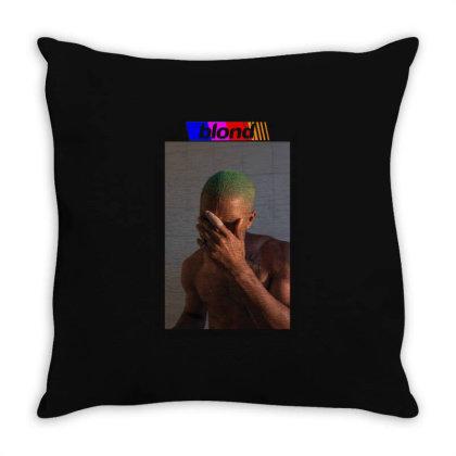 Frank Ocean   Blond Throw Pillow Designed By Diaheka92