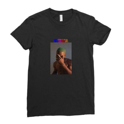 Frank Ocean   Blond Ladies Fitted T-shirt Designed By Diaheka92