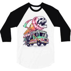 Scream for Ice Cream 3/4 Sleeve Shirt | Artistshot