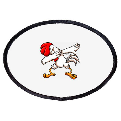 Swagger Chicken Oval Patch Designed By Alqamar