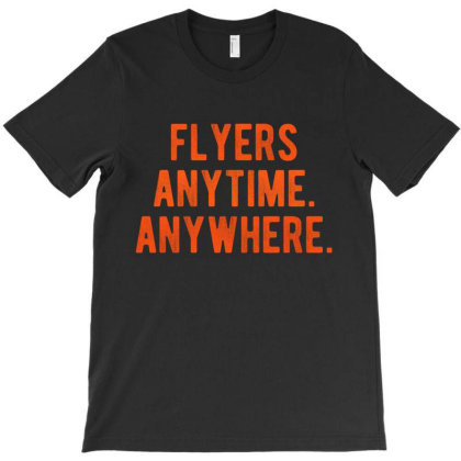 Anytime Anywhere T-shirt Designed By Shirt1na