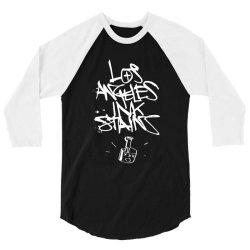 los angeles tattoo 3/4 Sleeve Shirt | Artistshot